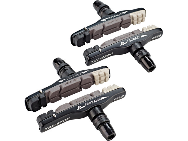 BBB BBS-14/14T Patins De Frein VTT Cartridge TriStop, triple color